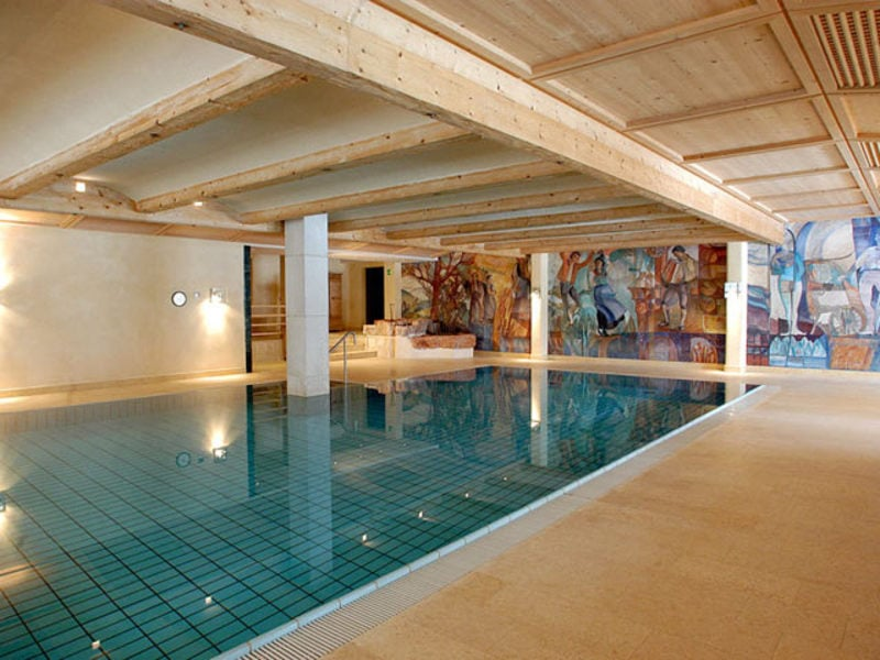Mondo acquatico sporthotel panorama corvara alta badia - Hotel corvara con piscina ...