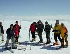 Skiing, sledging...